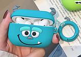 Силиконовый чехол Корпорация монстров Салли IQEA для наушников Apple AirPods Pro, фото 2