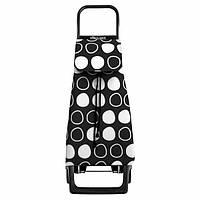 Хозяйственная стильная сумка-тележка на колесах Испания Rolser Jet Symbol Joy 40 Negro