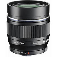Обєктив OLYMPUS ET-M7518 75mm 1:1.8 Black (V311040BE000)