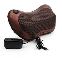 Массажная роликовая подушка массажер в машину Massage pillow 8028