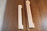 Ручка мебельная деревянная орех, фото 8