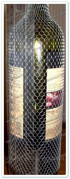 Сетка бутылочная защитная до 100мм