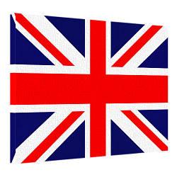 Картина на холсте Флаг Великобритании 45x65 см (H4565_STV004)