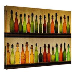 Картина на полотні 45х65 Пляшки (H4565_STV007)