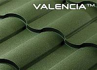 Металлочерепица VALENCIA 350/15 (Сталекс, Италия, PEMA, 0.50мм) 1200 / 1125 мм.