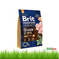 Сухой Корм для собак средних пород Брит Премиум Brit Premium Dog Adult 15кг