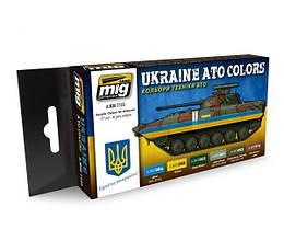 Наборы красок для сборных моделей бронетехники