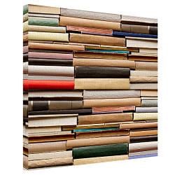 Картина на холсте Книги 50х50 см (H5050_STV008)