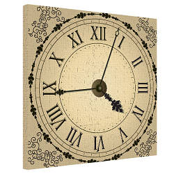 Картина на полотні 50х50 Годинник (H5050_STV009)