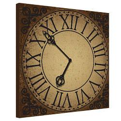 Картина на холсте Часы 50х50 см (H5050_STV011)
