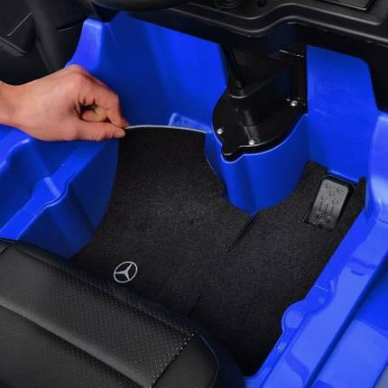 Вантажівка Mercedes M 4208EBLR-2 дитячий електромобіль синій, фото 2