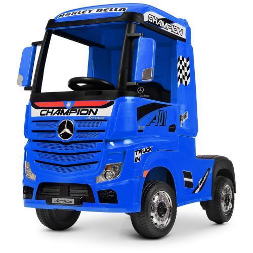 Вантажівка Mercedes M 4208EBLR-2 дитячий електромобіль синій