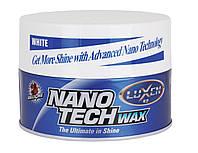 Твердый воск Bullsone Nano Tech Wax для белых цветов для белых авто 300 гр
