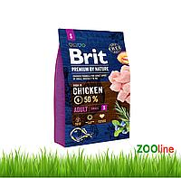 Сухой Корм для собак маленьких пород  Брит Премиум Brit Premium Dog Adult S 8кг