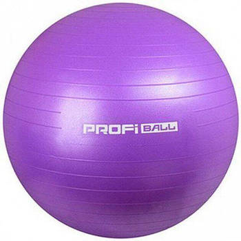 Мяч для фитнеса (фитбол) Profi Ball - 75 см фиолетовый металлик M 0277 4