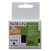 Картридж струйный PATRON для HP DJ C8767HE (PN-H130) BLACK