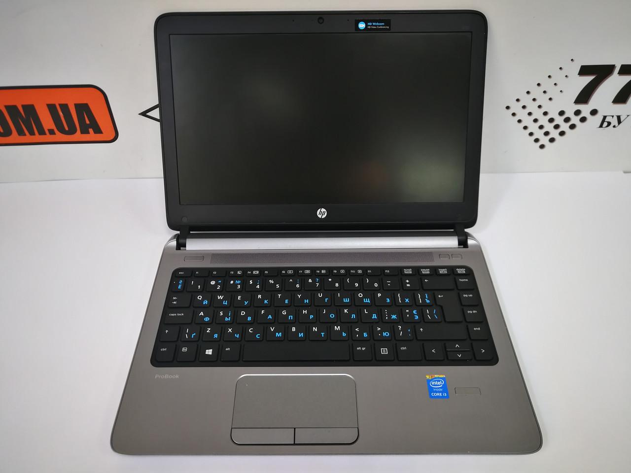 """Ноутбук HP ProBook 430 G1, 13.3"""", Intel Core i3-4005U 1.7GHz, RAM 4ГБ, SSHD 500ГБ"""