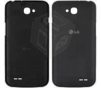 Задняя крышка батареи для LG Optimus L90 Dual Sim D410, серый, оригинал