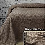 Простынь махровая Crown, 160х220 см (цвета в ассортименте), фото 5