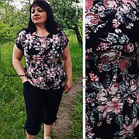 Женский летний костюм большие размеры (с 50 по 64 размер), фото 1