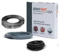 Нагревательный кабель в стяжку GrayHоt (128м) 1929Вт 12,8 - 16,0 м.кв