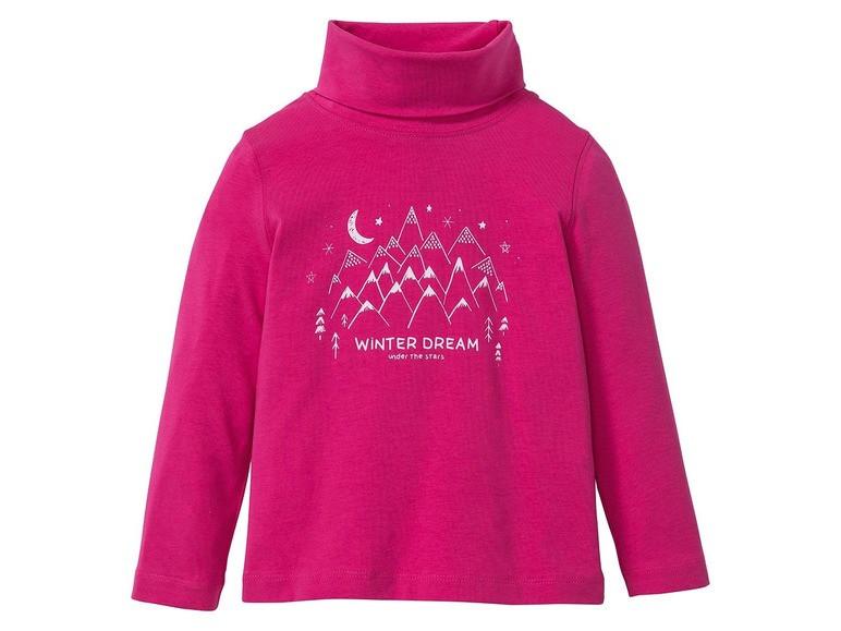 Гольф для девочки розовый Winter Dream Lupilu (Германия) р.86/92см