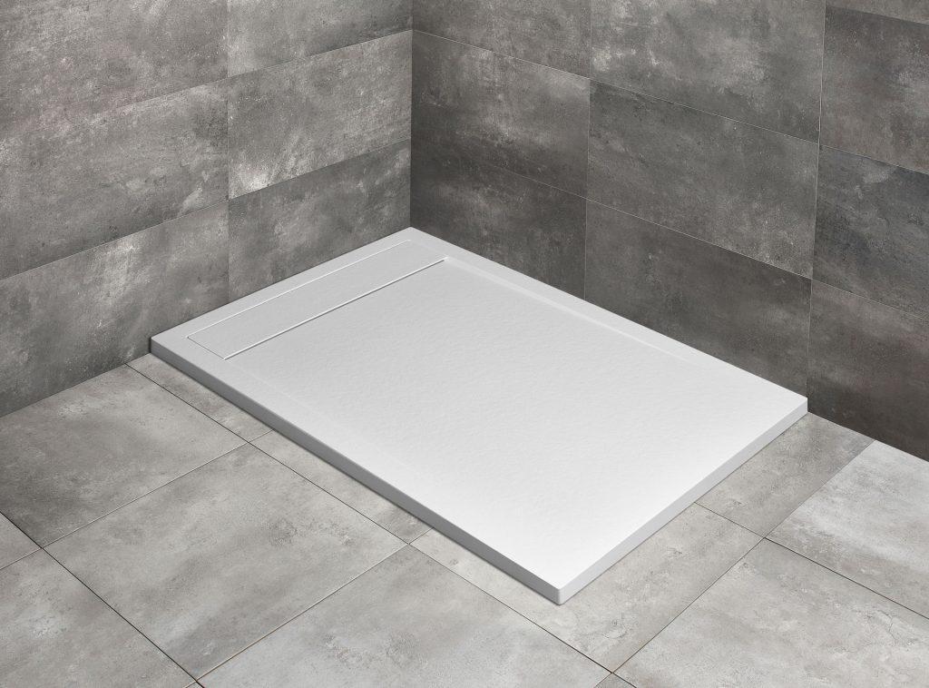 Душевой поддон прямоугольный Radaway Teos F white белый