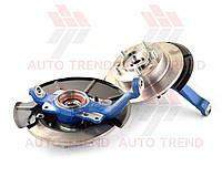 Ступичный узел ВАЗ 2123, 24 шлица, с усил. ступицей, с внешним креплением тормозного диска (в сборе с диском)