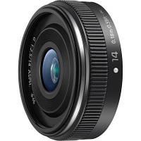 Обєктив PANASONIC Micro 4/3 Lens 14mm F/2.5 (H-H014AE-K)