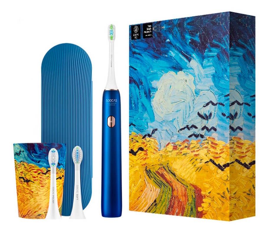 Зубна електрощітка Soocas X3U Синій (641353)