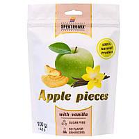 Ломтики яблочные сушеные с ванилином Apple Pieces, 100 г