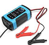 Автоматичне SMART зарядний пристрій авто акумулятора 12в авто зарядка акб, фото 4