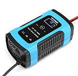 Автоматичне SMART зарядний пристрій авто акумулятора 12в авто зарядка акб, фото 5