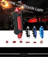 Вело задний стоп сигнал, мигалка, моргалка, фонарь, зарядка от usb, аккумуляторный