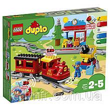 Конструктор LEGO Duplo 10874 Поїзд на паровій тязі