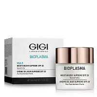 Багатий зволожуючий крем для обличчя SPF 20 GIGI BIOPLASMA Moist Dry SPF-20, 50 ml