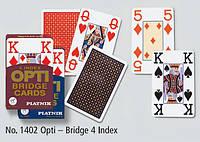 """Карти """"Opti"""", з 4-ма індексами, 55 карт (шт)"""