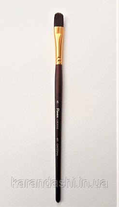 Кисть Pinax Creative 697 Синтетика жесткая № 6 овальная, фото 2
