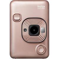 Камера миттєвого друку Fujifilm INSTAX Mini LiPlay Blush Gold (16631849)
