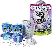 Интерактивная игрушка Хетчималc Котята Двойной сюрприз в яйце Hatchimals Surprise Twin Peacat Bizak