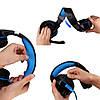 Игровые наушники Kotion Each G2000 с микрофоном и подсветкой Blue - Фото