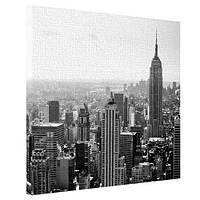 Картина на холсте Городской пейзаж Нью-Йорка 65x65 см (H6565_GOR011)