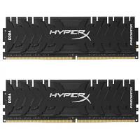 Модуль памяті для компютера DDR4 16GB (2x8GB) 3200 MHz HyperX Predator Black Kingston (HX432C16PB3K2/16)