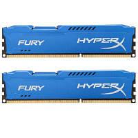 Модуль памяті для компютера DDR3 16Gb (2x8GB) 1866 MHz HyperX Fury Blu Kingston (HX318C10FK2/16)