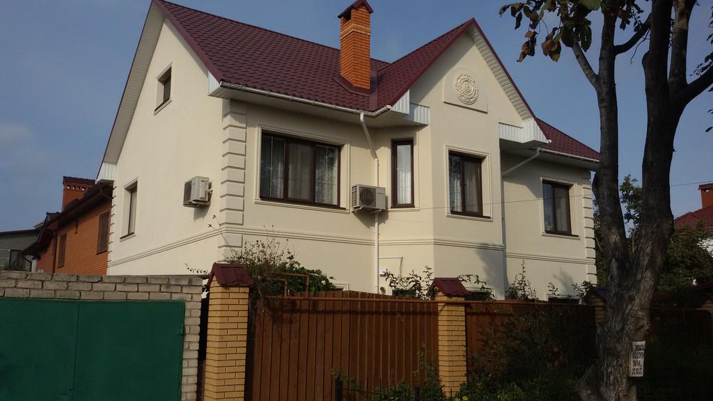 Изготовление декора для отделки фасада дома г.Одесса ул. Обильная