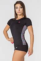 Женская спортивная футболка Radical Reaction II SS с ромбами M (r0822)