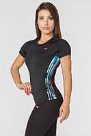 Женская спортивная футболка Radical Reaction II SS с полосами L (r0820)