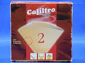 Бумажные одноразовые фильтры конусные для кофеварок капельного типа 100 шт. KONOS GmbH №2