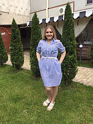 Платье-рубашка Оливия