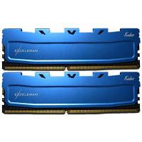 Модуль памяті для компютера DDR4 16GB (2x8GB) 2400 MHz Blue Kudos eXceleram (EKBLUE4162417AD)